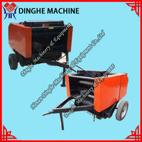 China supplier hay/straw/wheat stalk agro waste baling machine