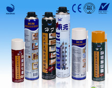 Aerosol polyurethane fixing foam