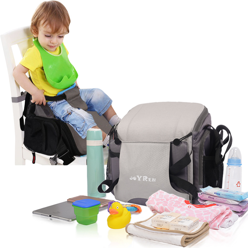 Soft Foldable Baby Booster Seat Travel Booster Seat