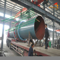 Supply rotary drum coal dryer for all of the component parts of the dehydration system including the burner, furnace, cyclone,