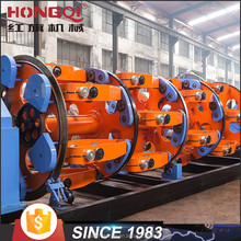 Planetary type steel wire rope stranding machine for armouring or twisting