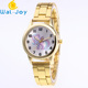 WJ-6945 Quartz Alloy OEM Girls Handwatch Beautiful Pink Horse Watches