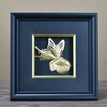 3D Gold Plated Picture Fame For Home Decoration Or Gift