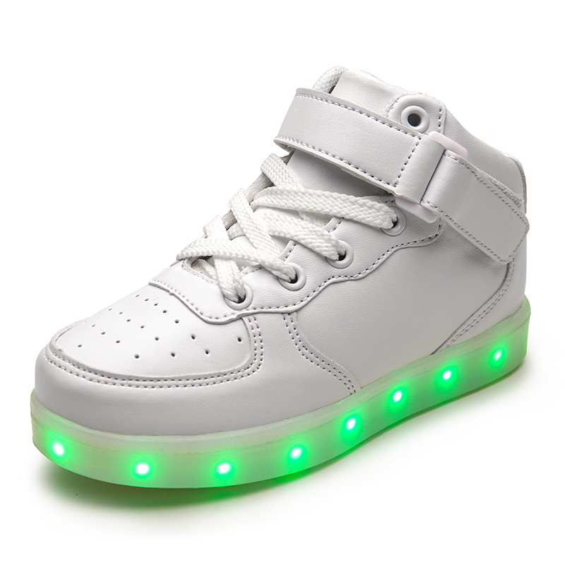 Newest Fashionable Flashing Tenis LED Bluetooth Shoes For Kids