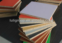 melamine coated chipboard/particle board