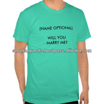 custom name will you marry me t-shirts / shorts sleeves summer shirts