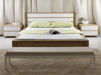 2015 Furniture natural bamboo double bed design for bedroom