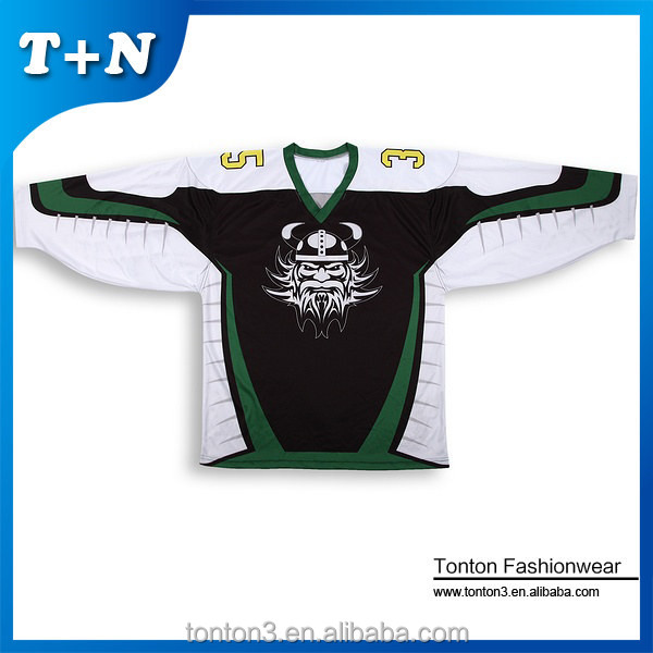 slim fit quick dry OEM factory latest team set dye sublimation hockey jersey