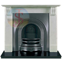 Indoor Used Marble Fireplace mantel