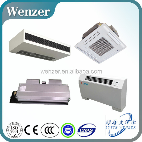 High Efficiency Top Quality Wall Mounted Fan Coil, Cassette Ceiling Fan Coil, Fan Coil Unit Price