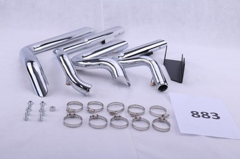 steel chrome finish exhaust system pipe for Harley Sportster 883-1200