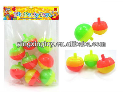 Plastic hot sale promotion gift mini top toy