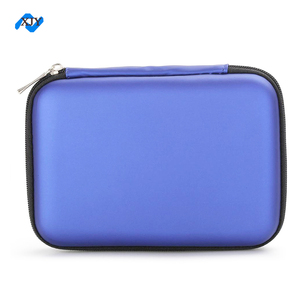 Protective Product Zipper Hard Foam Packaging Custom Eva Case