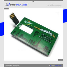 card type usb pen drive , card usb with double sides printing, 4gb oem card usb memory