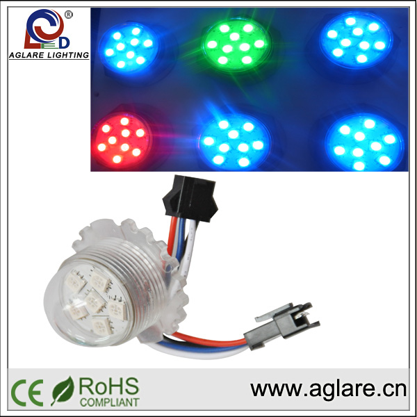 2014 Aglare Lighting Super Bright LED module light;pixel led light module for building decoration ws2811