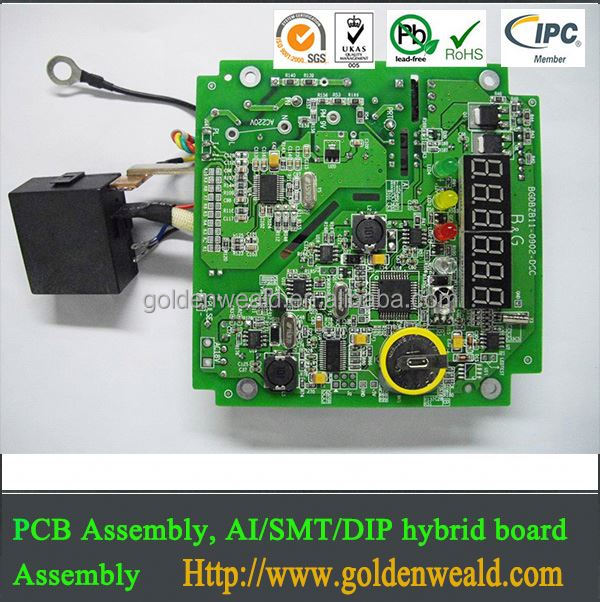 professional pcba assembly & pcb design PCB Assembly for traffic control products pcba circuit