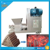2016 hot selling charcoal briquette extruder machine with spare parts