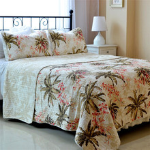 2016 Home Textile Cotton Patchwork Flower Design Bed Sheet, Fabric For Bed Sheet