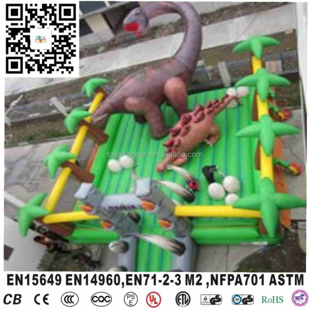 large inflatable dinosaur playground indoor or outdoor jumping bouncer castle