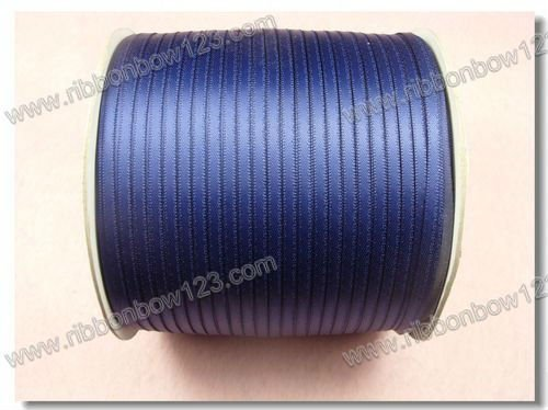 1/8 Narrow satin blue ribbon