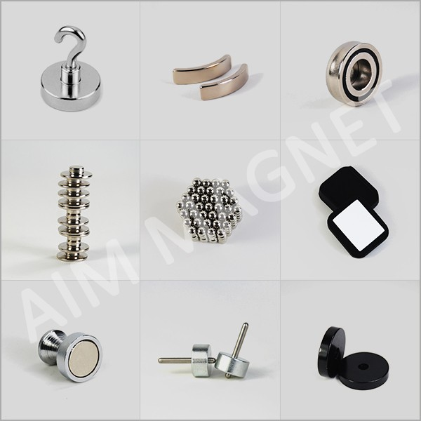 16mm x 5mm Countersink N35 Neodymium Pot Magnets