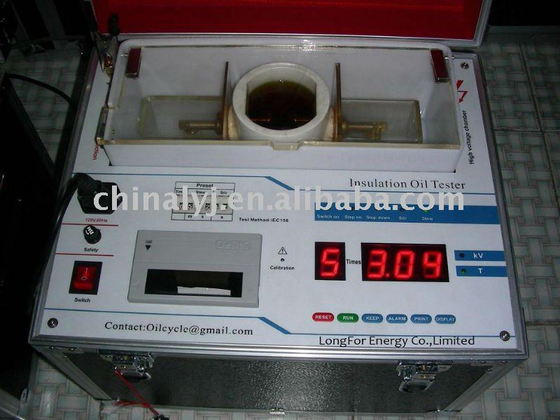 Automatic Electrical transformer Oil Puncture <strong>Tester</strong>