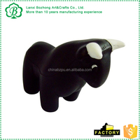 High quality hot sale Black Bull Promo Stress Ball , Black Bull Promo Stress Ball toy for promotional event with logo
