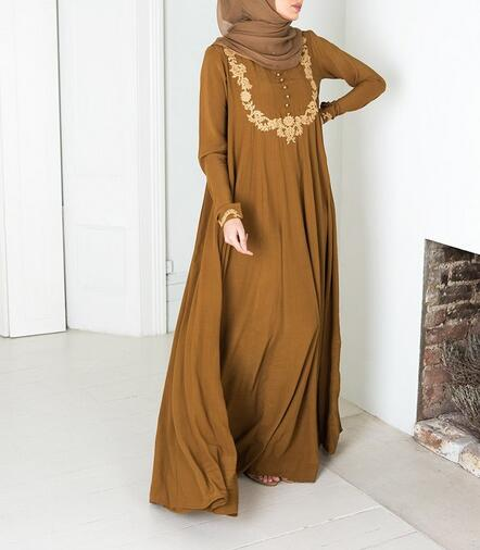 2016 Latest muslim dress designs dubai abaya
