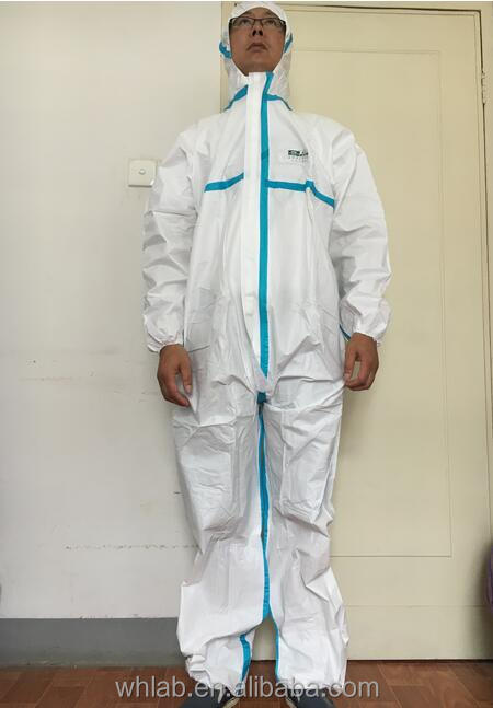 non-woven disposable coverall Chemical Protective suit
