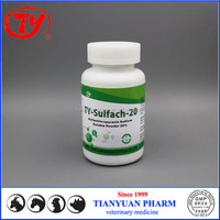 veterinary medicine pigeon medicines Sulfachloropyrazin Sodium water soluble powder with GMP