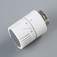 automatic temperature control thermostatic radiator valve with liquid sensor for home heating