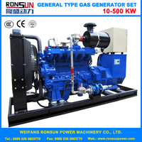 Water Cooled 10KW biomass electric generator Powered By DEUTZ Engine Made In China
