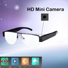 smart pin mini wireless camera plain glasses camera for girls