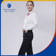 Pictured office uniform designs shirt suit dress 2016 for front and bank with several color choices
