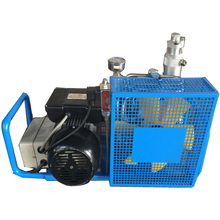 4-stage air-cooled mini high pressure air compressor