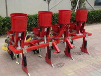 2BYF-4 4-row corn manual drum seeder plastic planter box