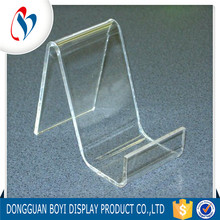 Mobile Phone Support Acrylic Mobile Phone Display Stand Cell Phone Case Display Rack