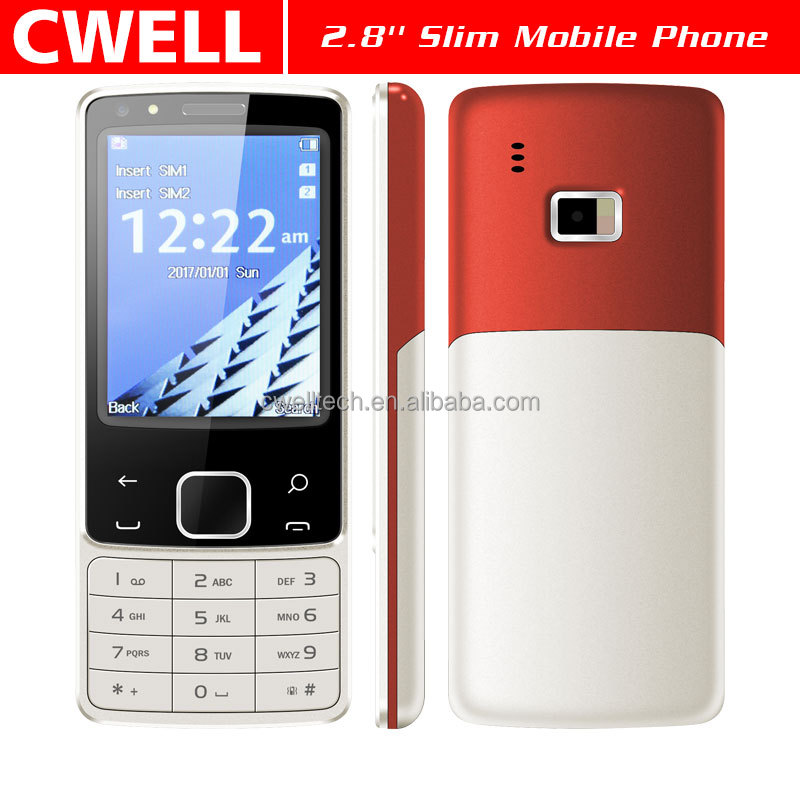 2.8 Inch TFT 320x240 screen Dual SIM Card Double Cameras keypad mobile phone Ultra Slim Design ECON N6300