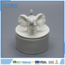 elephant ceramic decorative small small jewelry box for sale