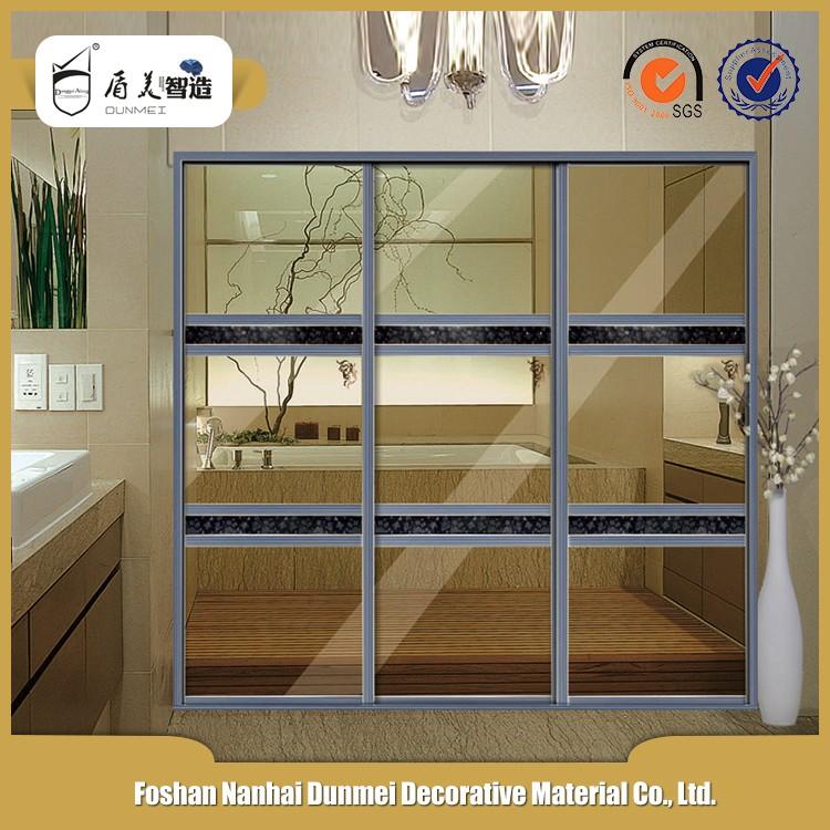 Interior Translucent Sliding Doors For Room Partition