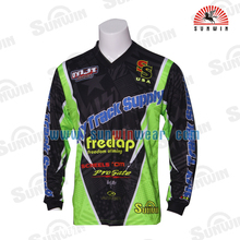 Wholesale Custom Design Sublimated 100% Polyester Cheap Bicycle Motocross Jersey
