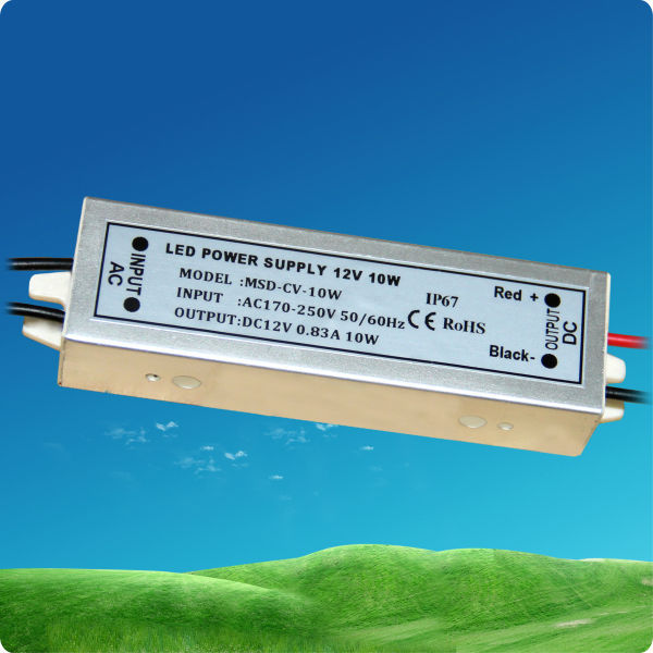 10W Constant Voltage 12V Waterproof Led Driver
