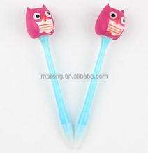 Advertisement pen light struck originality Children's Halloween Halloween owl flash round bead light pen PN3549