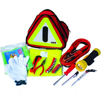 29pcs emergency car tools kit in triangle bag