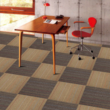 50x50cm office pvc flooring commercial nylon carpet tiles
