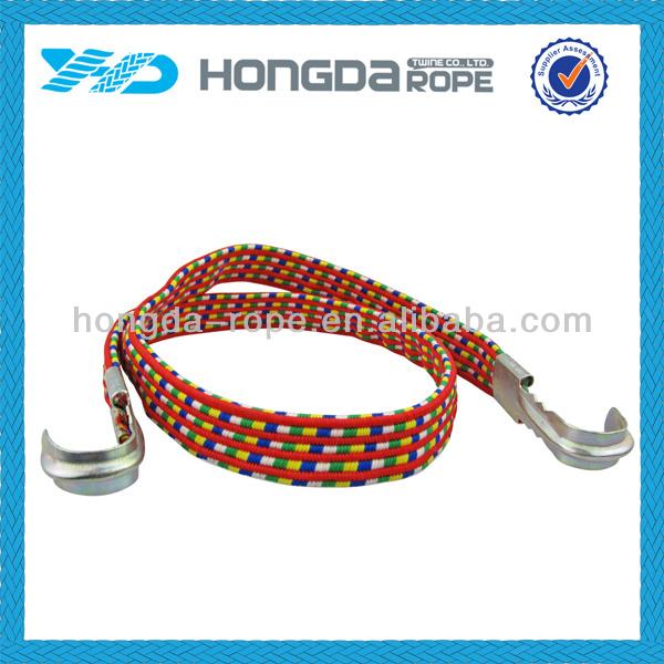 Grampos de corda elástica com mental para caminhadas ou camping