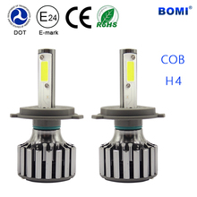 Super bright h4 h7 COB chip 35W r3 4800lm led headlight bulb chevrolet cruze headlight from China