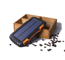 High Capacity Waterproof Portable Solar Power Bank