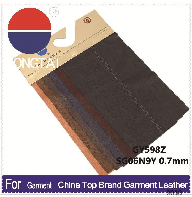 2015 wholesale artificial leather product of bangkok Factory direct sale