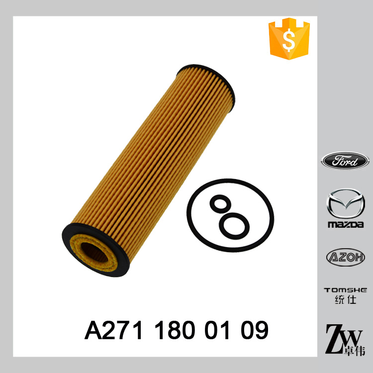 Hot Sale Auto Lubrication System A 271 180 0109 A2711800109 Merced(e) s-Ben(z) Oil Filter